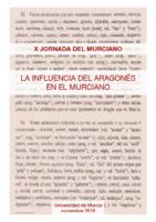 LainfluenciadelAragonésenelMurciano_Actas