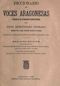 diccionariovocesaragonesas